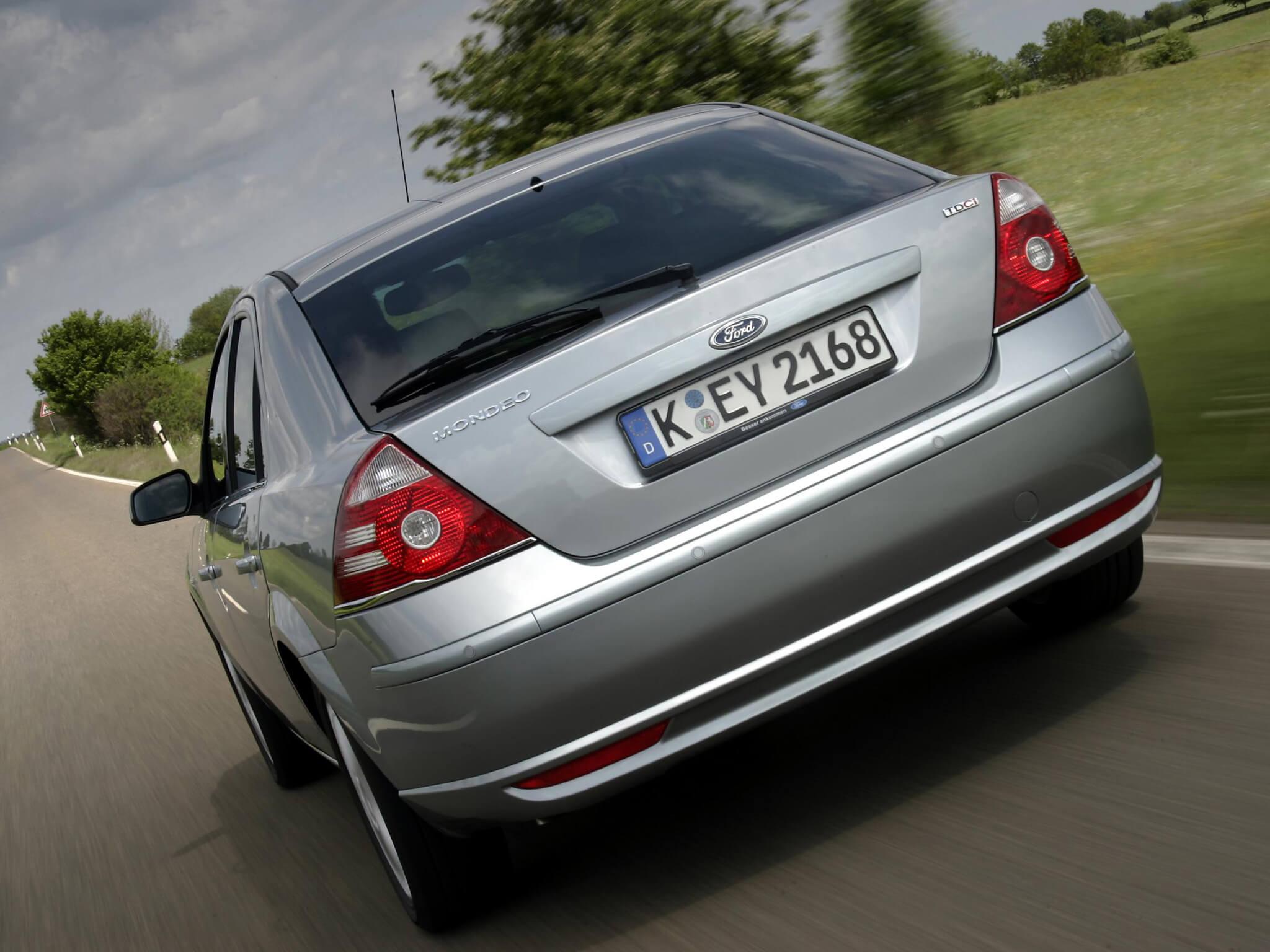 Ford Mondeo matrícula alemã