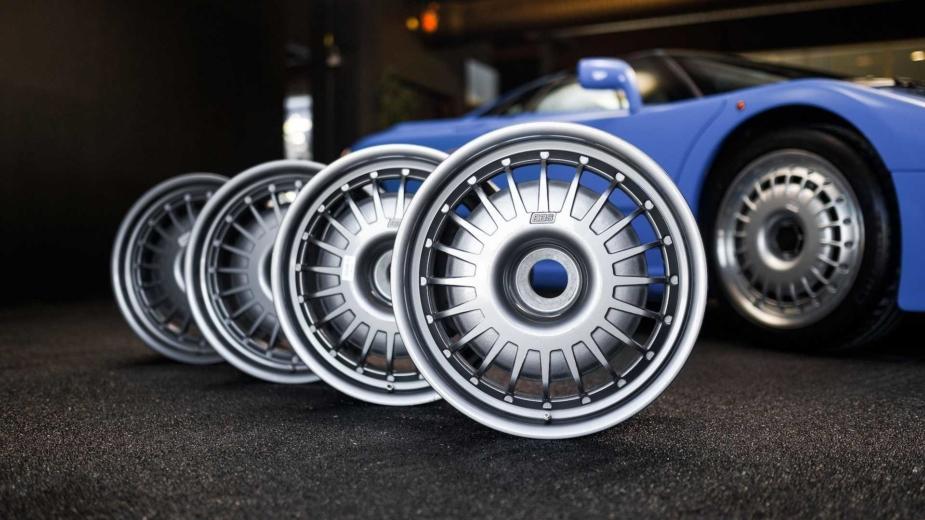 Bugatti EB110 jantes
