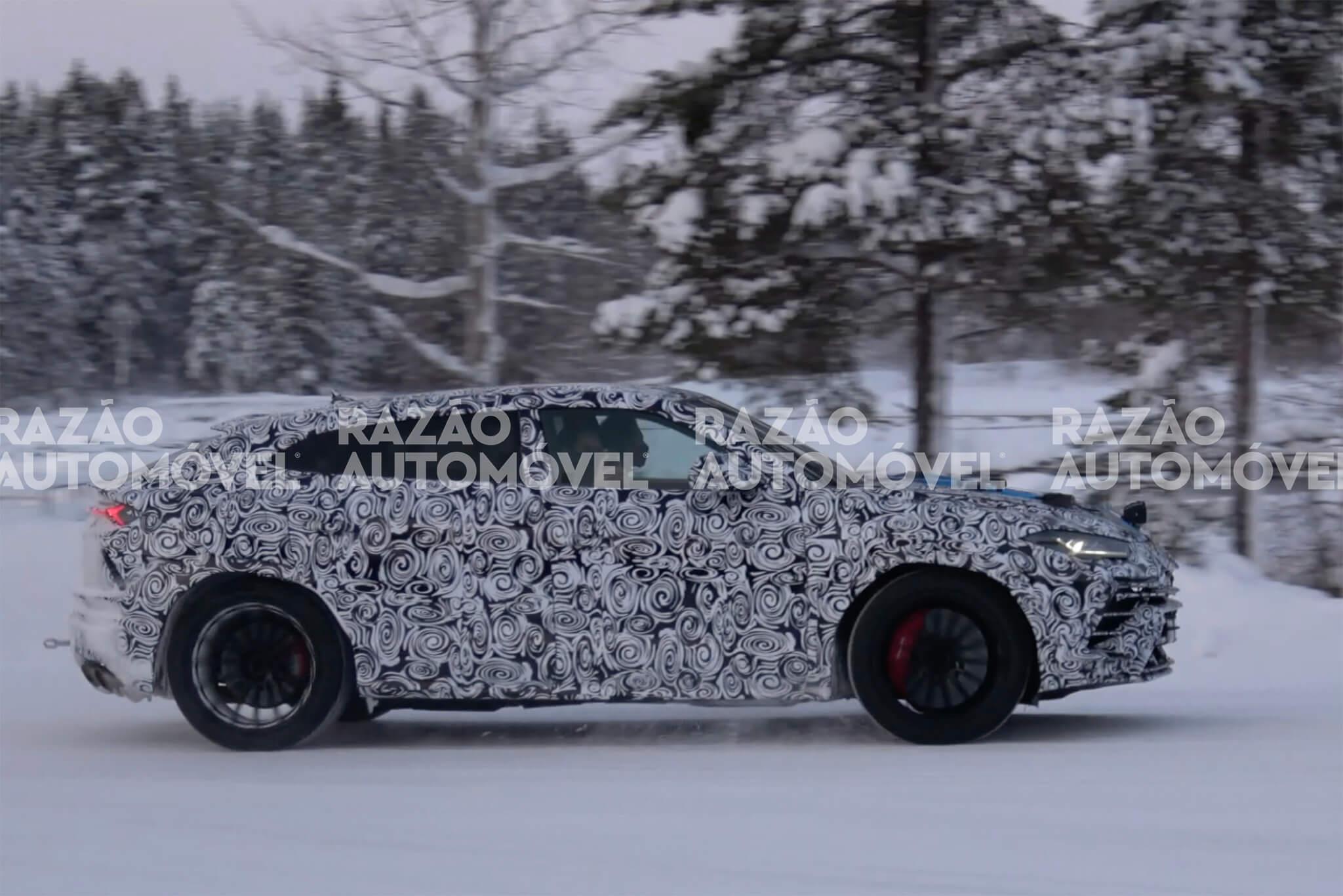 Lamborghini Urus 2021 fotos-espia