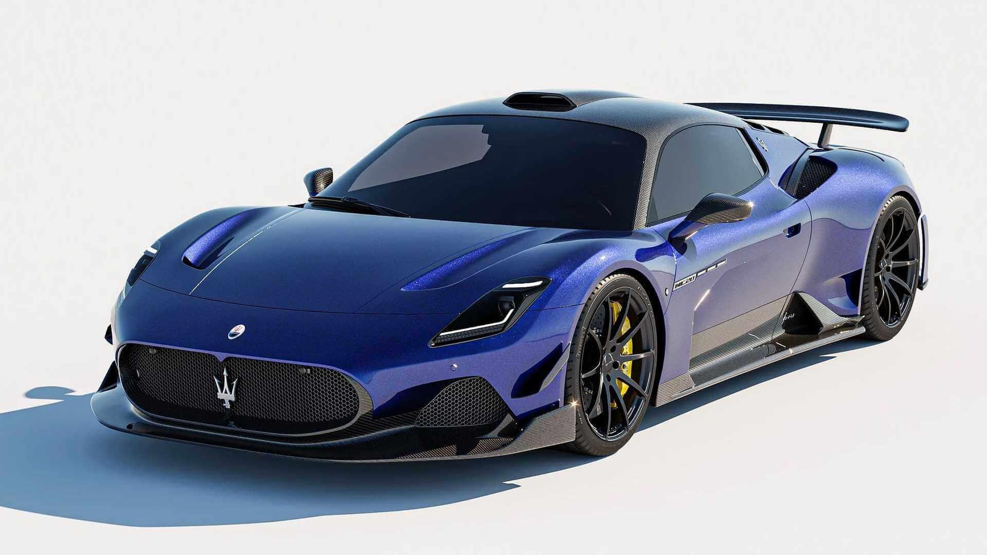 Maserati MC20 tuning