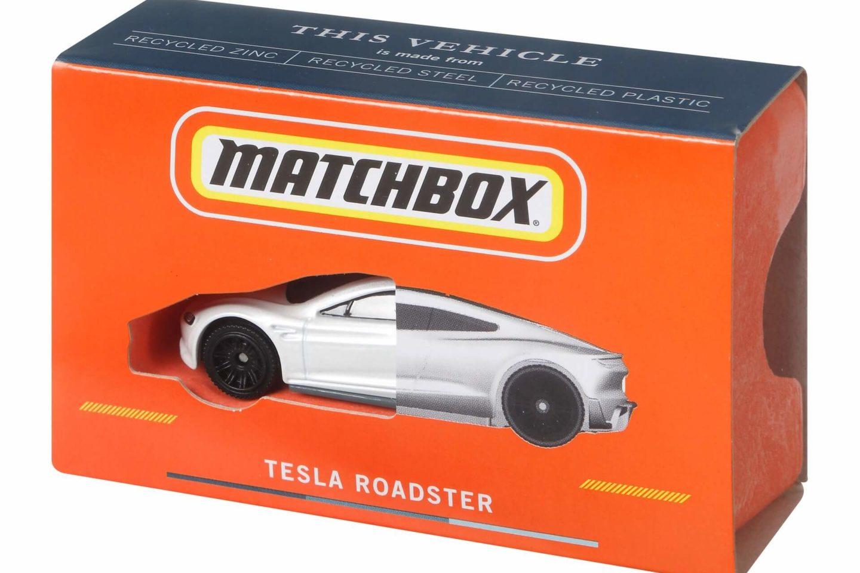 Matchbox Tesla Roadster