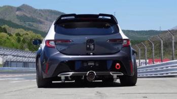 Motor a hidrogénio montado no Toyota Corolla Sport