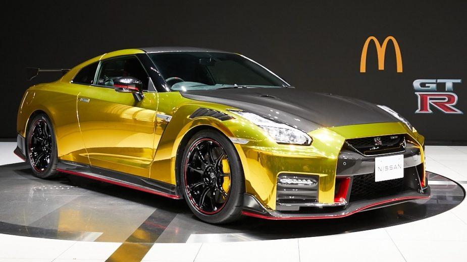 Nissan GT-R McDonalds