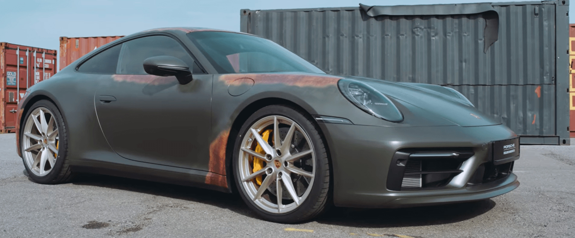Porsche 911 Patina Paint To Sample