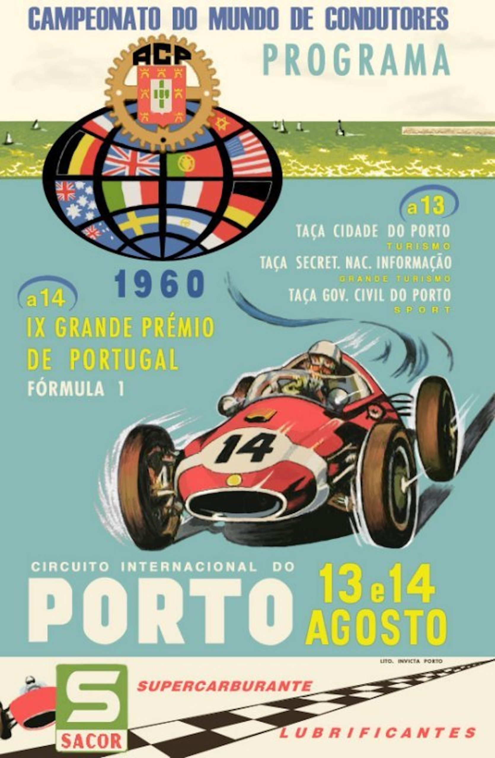 cartaz gp portugal 1960