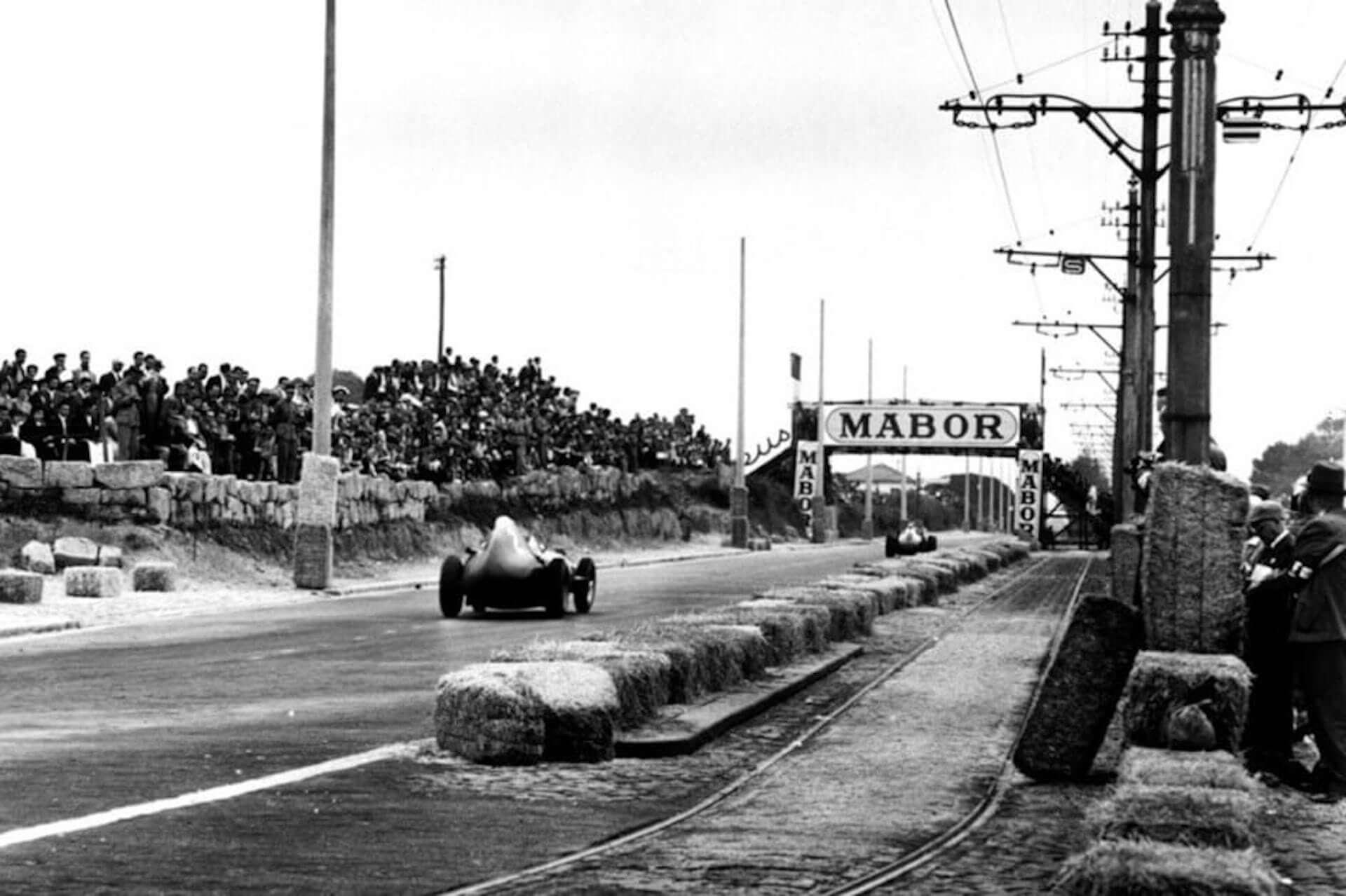 Stirling Moss (vanwall) circuito boavista 1958