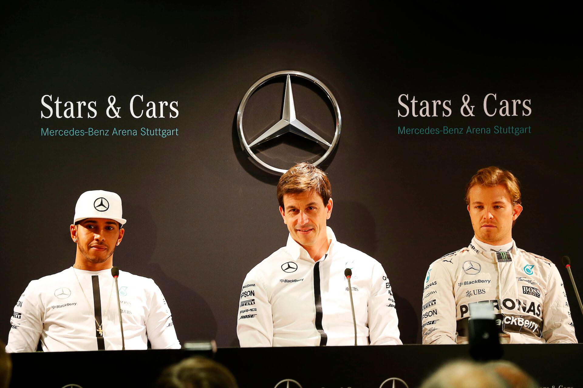 Toto Wolff _ Mercedes F1. team (hamilton e Rosberg)