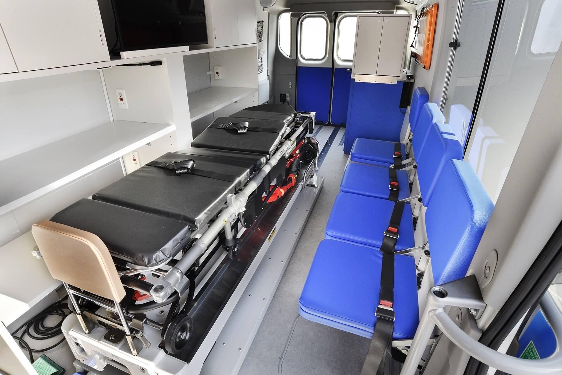Toyota Cruz Vermelha ambulância