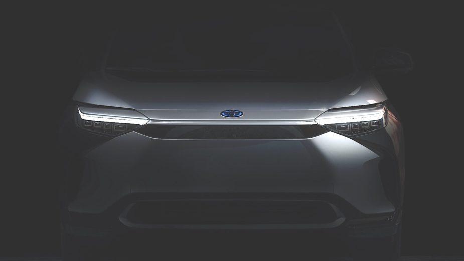 Toyota BZ teaser