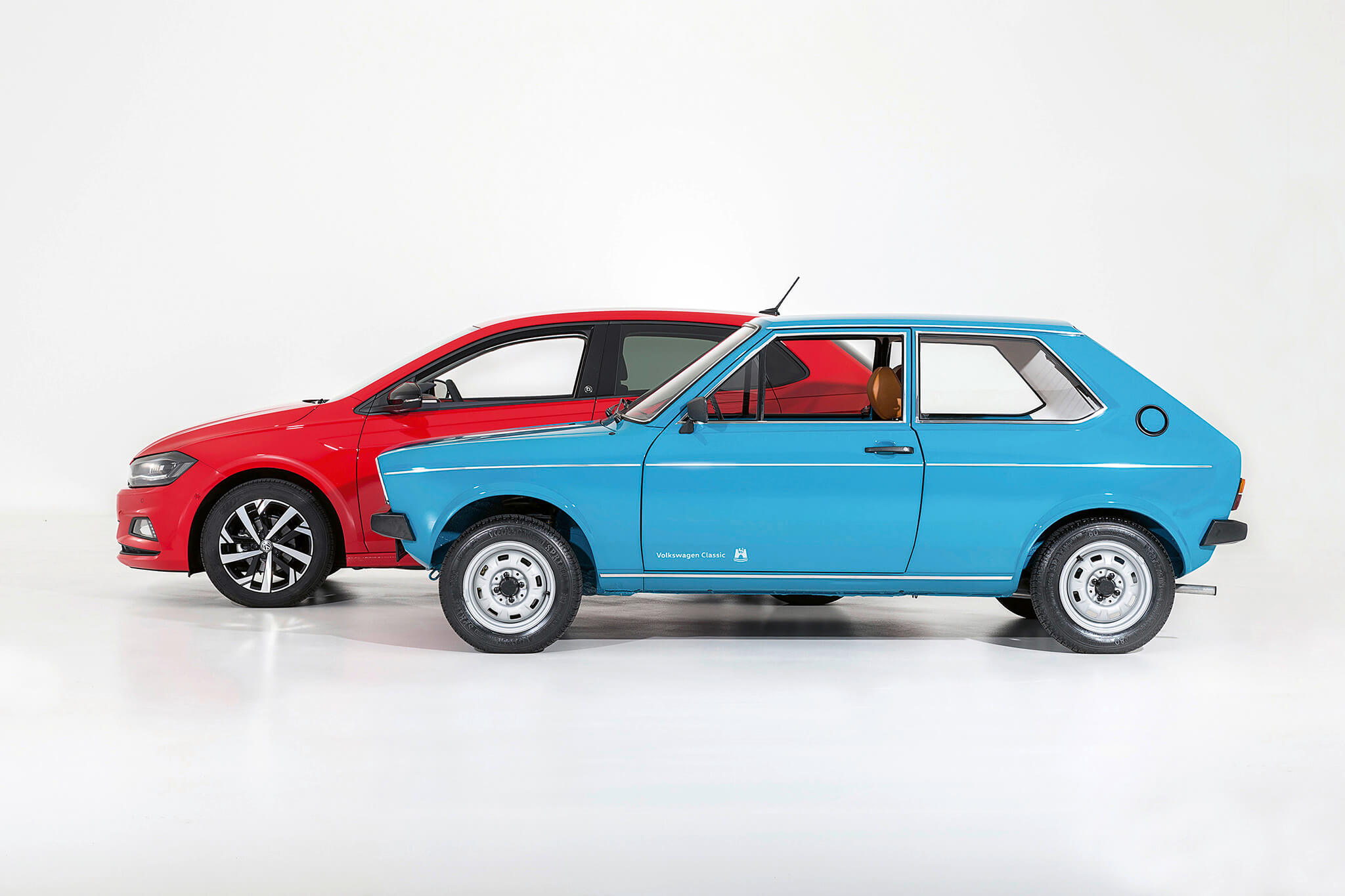 Volkswagen Polo primeira e sexta geração