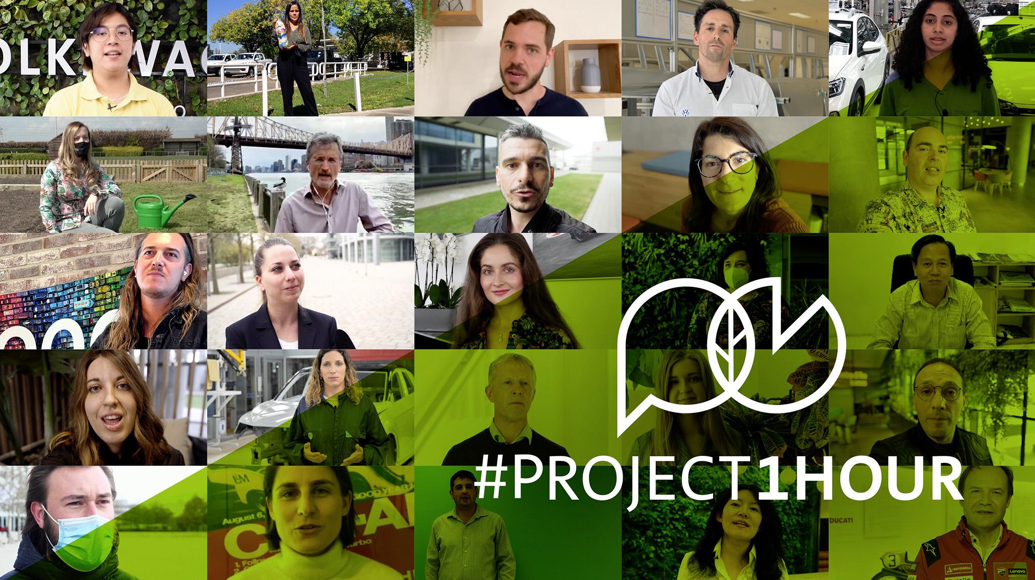 #Project1Hour Volkswagen