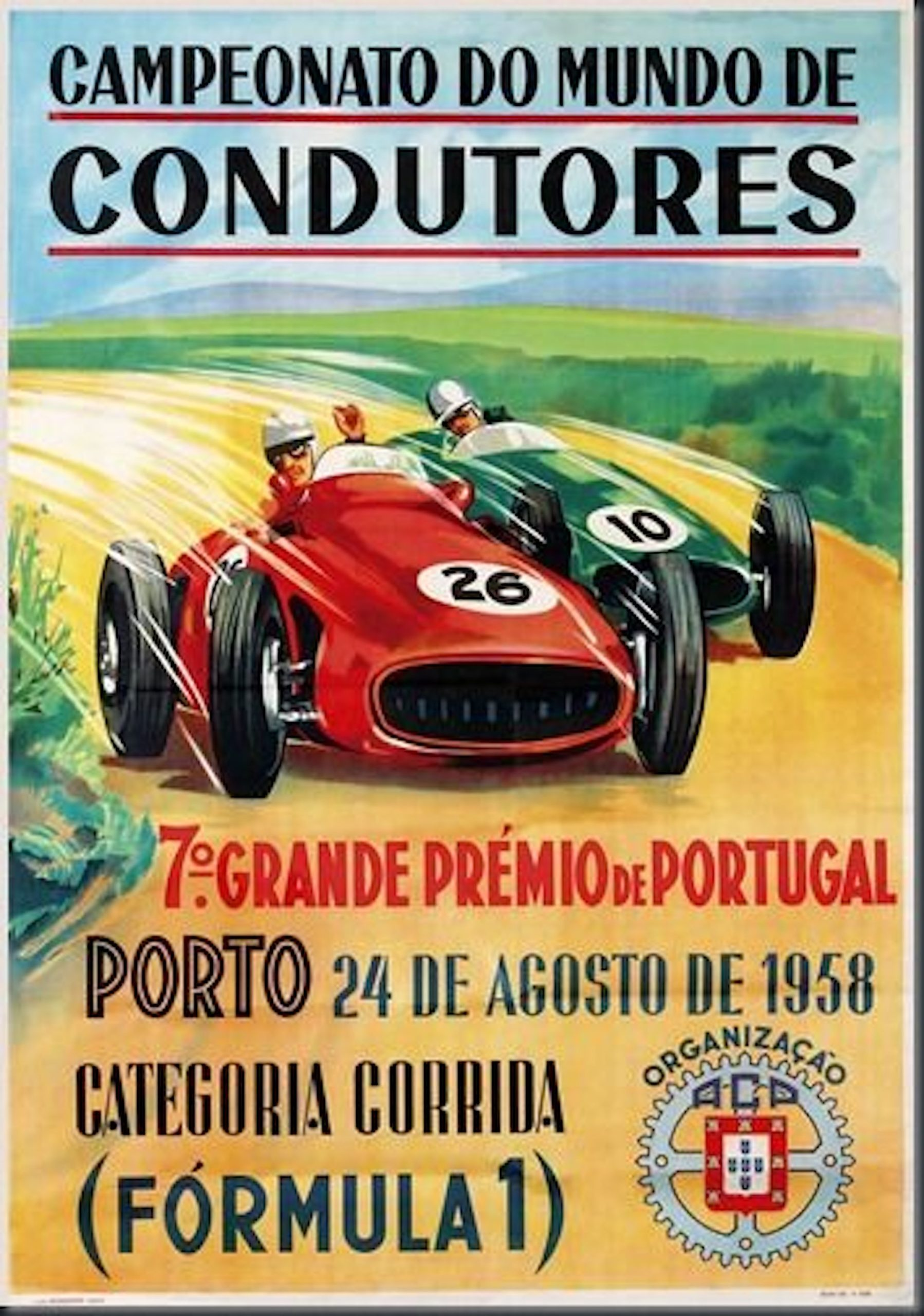 cartaz gp portugal 1958
