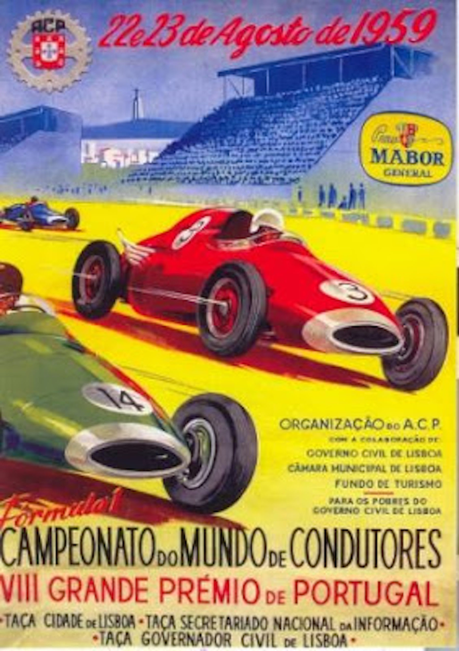 cartaz gp portugal 1959