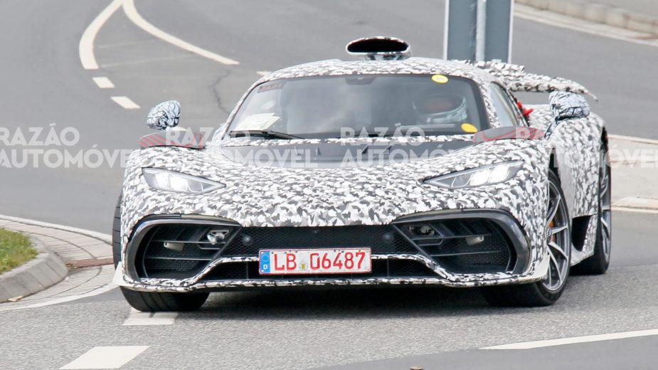 Fotos-espia Mercedes-AMG One