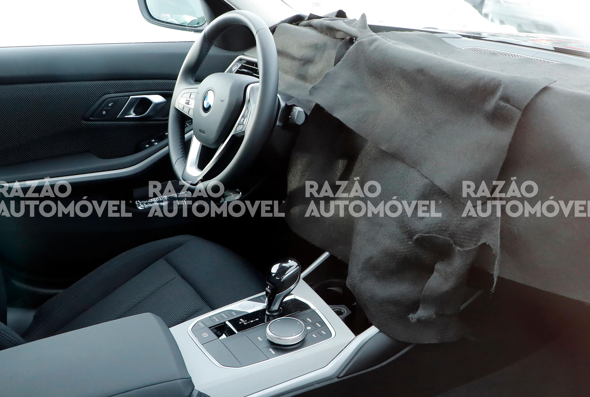 BMW Série 3 fotos-espia