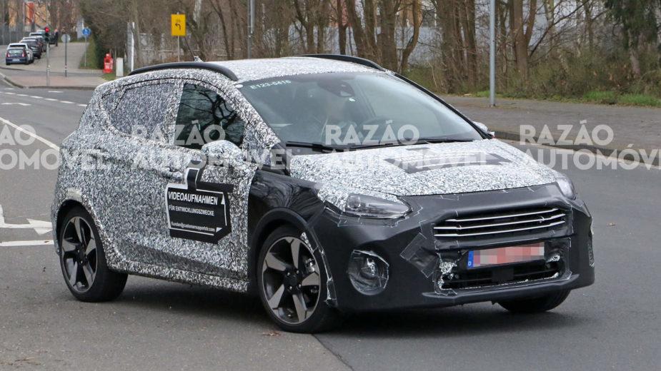 fotos-espia Ford Fiesta 2021