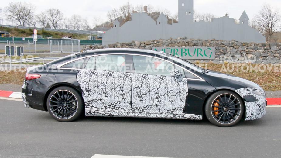 Fotos-espia Mercedes-AMG EQS