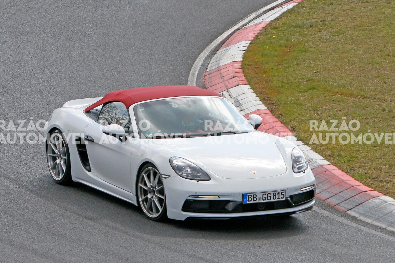Porsche 718 Spyder fotos-espia