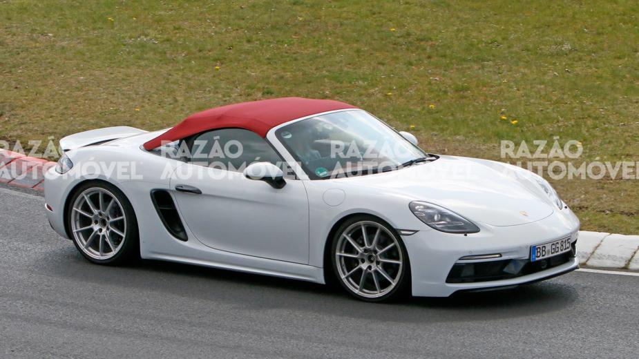 fotos-espia Porsche 718 Spyder