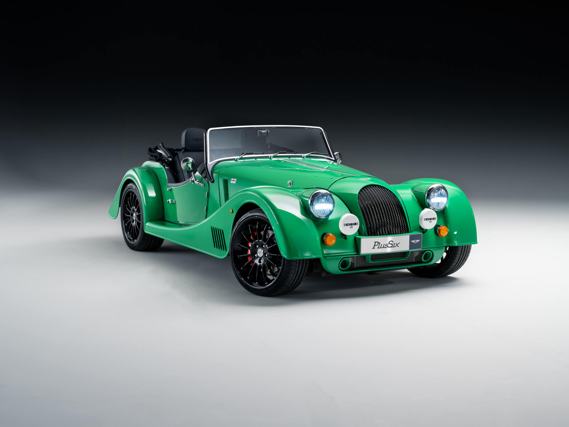 Comfort seat, which is standard on the Morgan Plus Four,