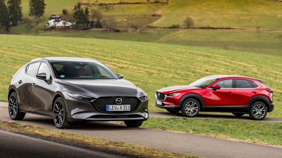 2021 Mazda3 e CX-30 e-Skyactiv-X