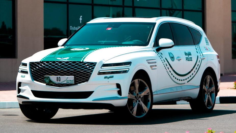 Genesis GV80 Polícia Dubai