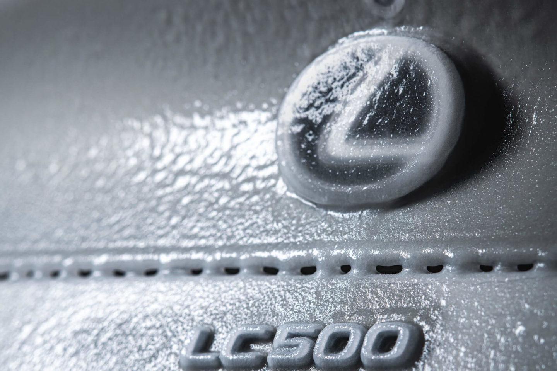 Lexus LC 500 Convertible congelado