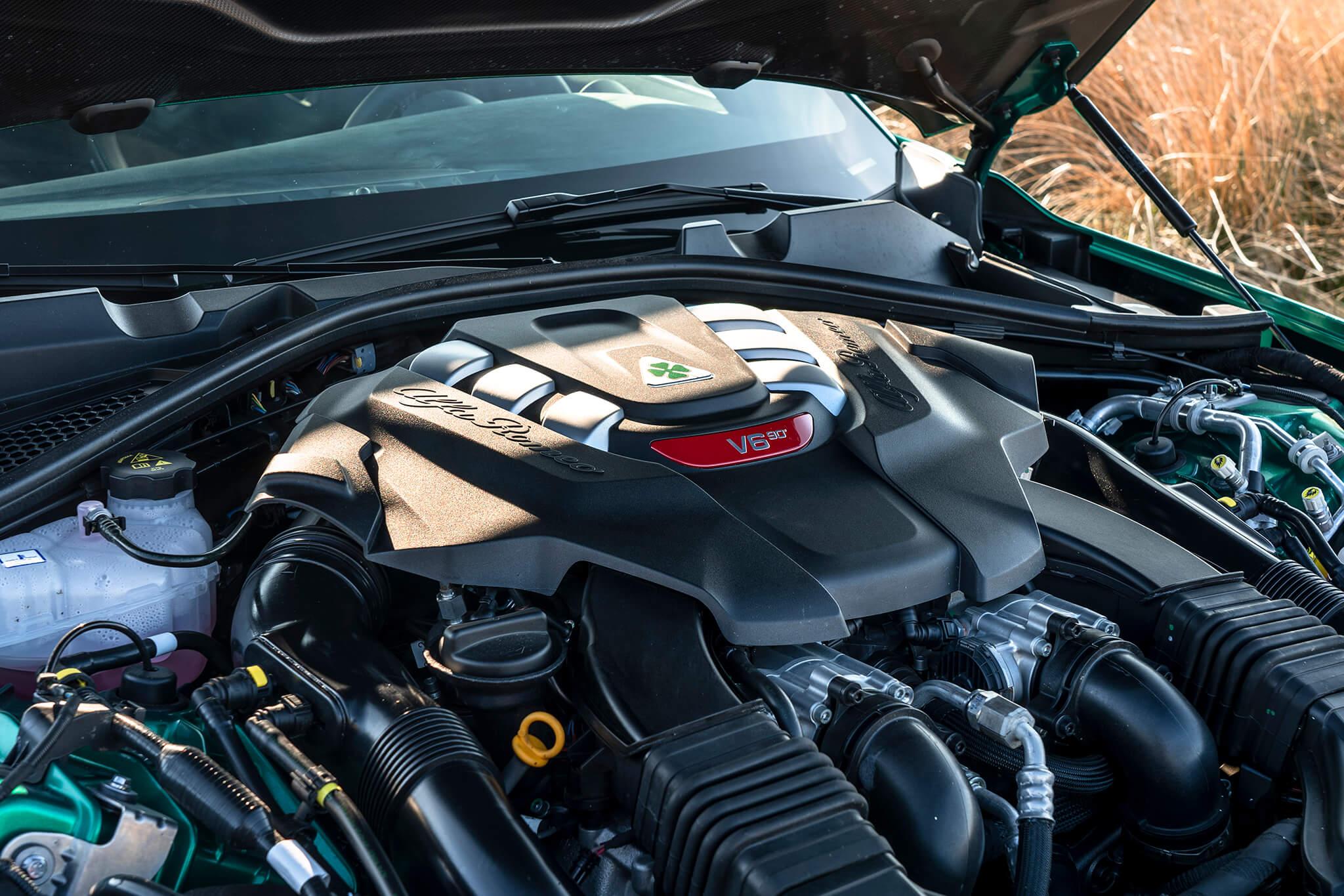 V6 twin turbo