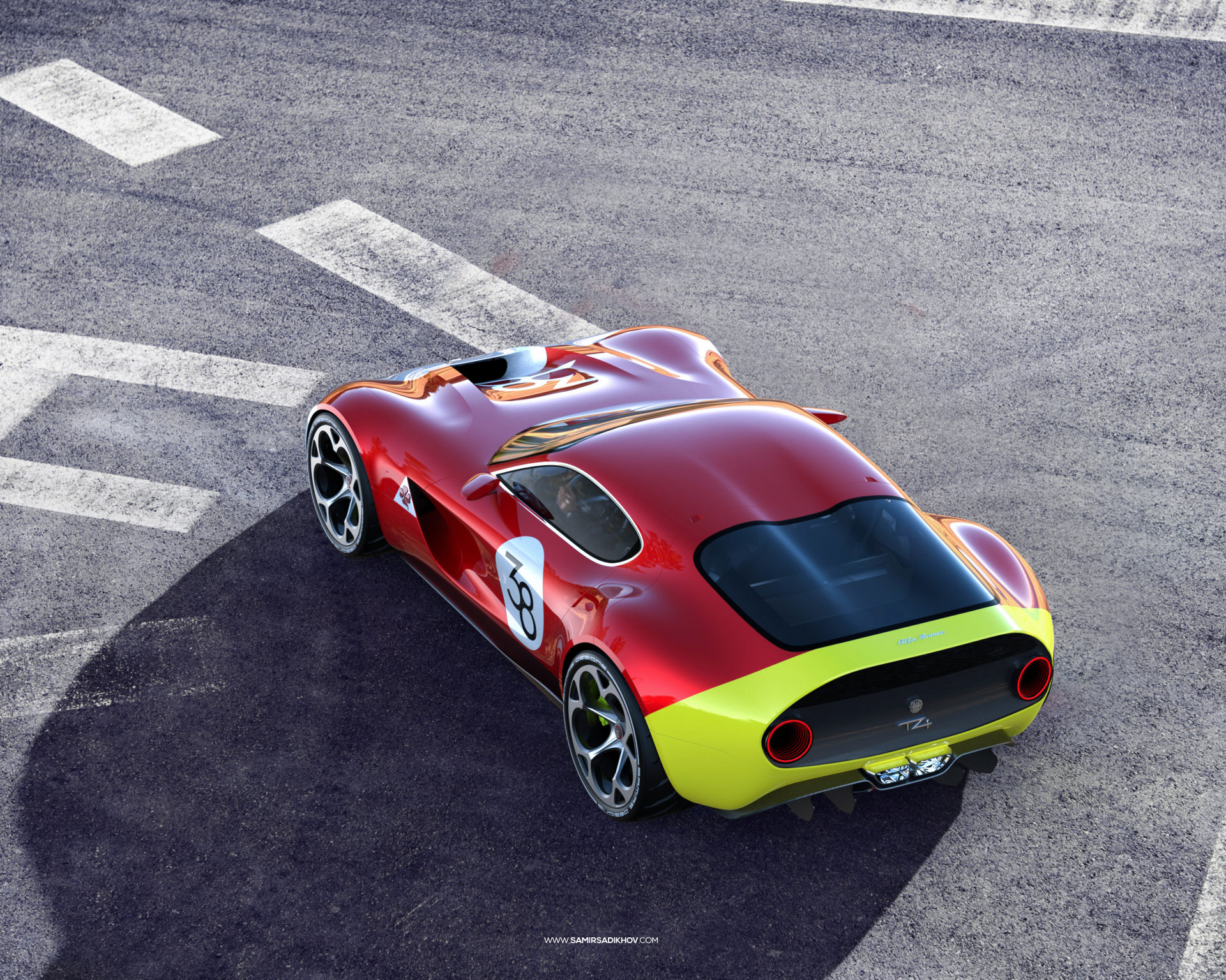 Alfa Romeo TZ4