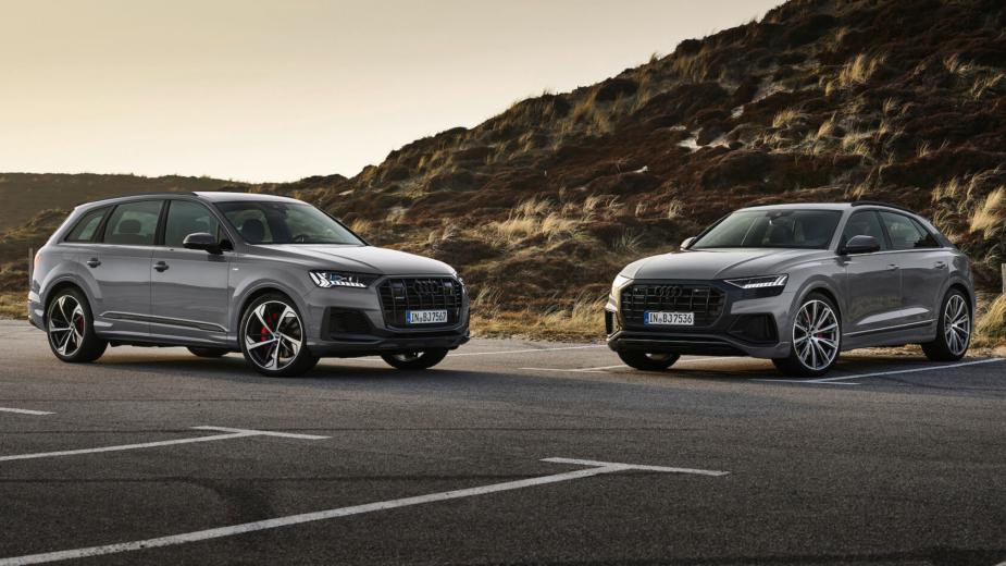 Audi Q7 e Q8 competition plus