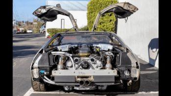 DeLorean DMC-12 Kia Stinger GT V6 1
