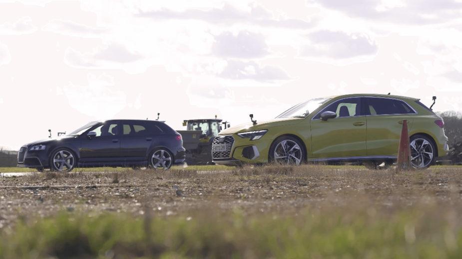 Drag race - Audi S3 vs Audi RS 3