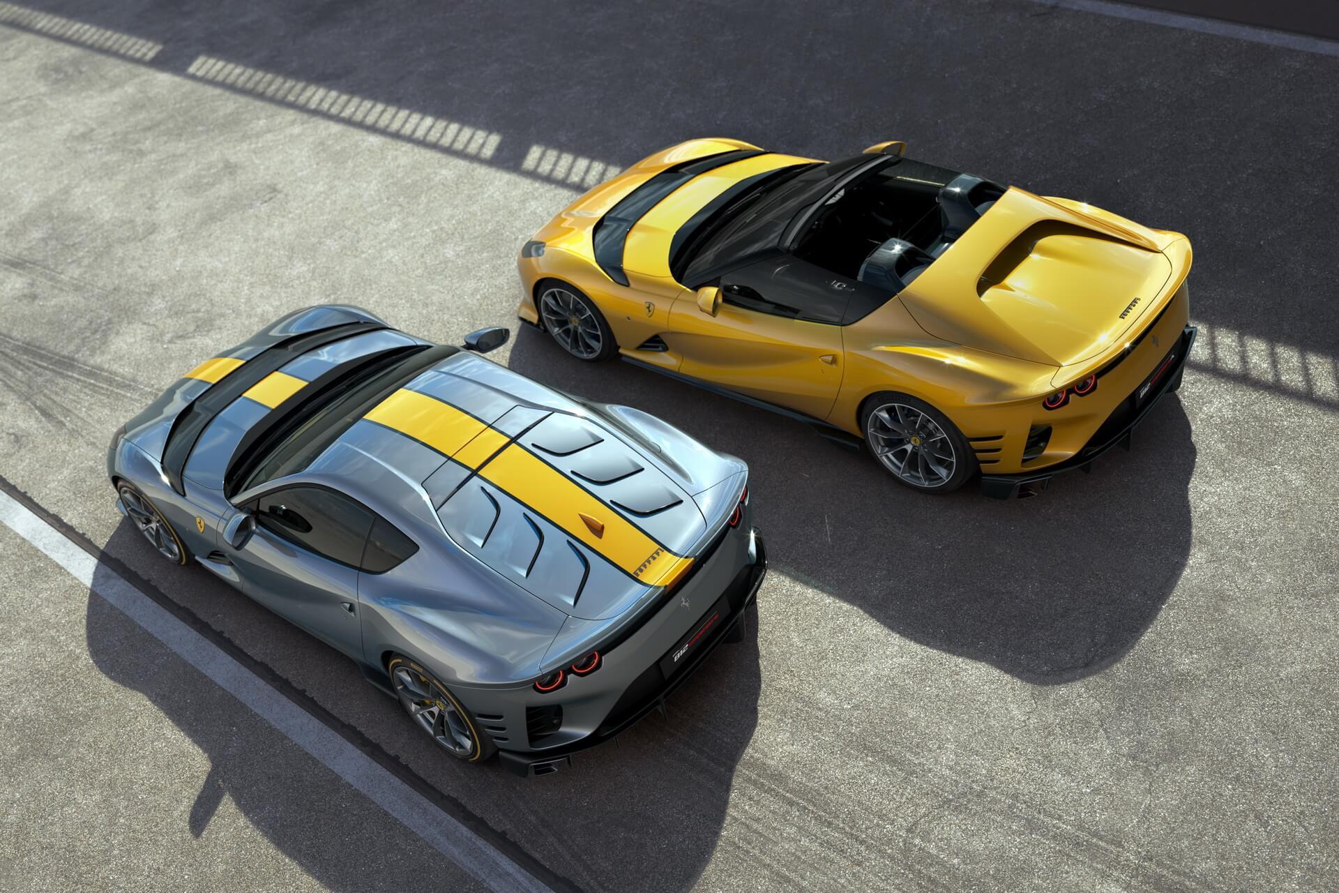 Ferrari 812 Competizione e 812 Competizione Aperta