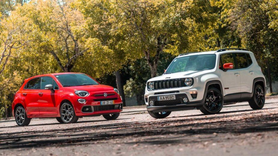 Fiat 500X e Jeep Renegade