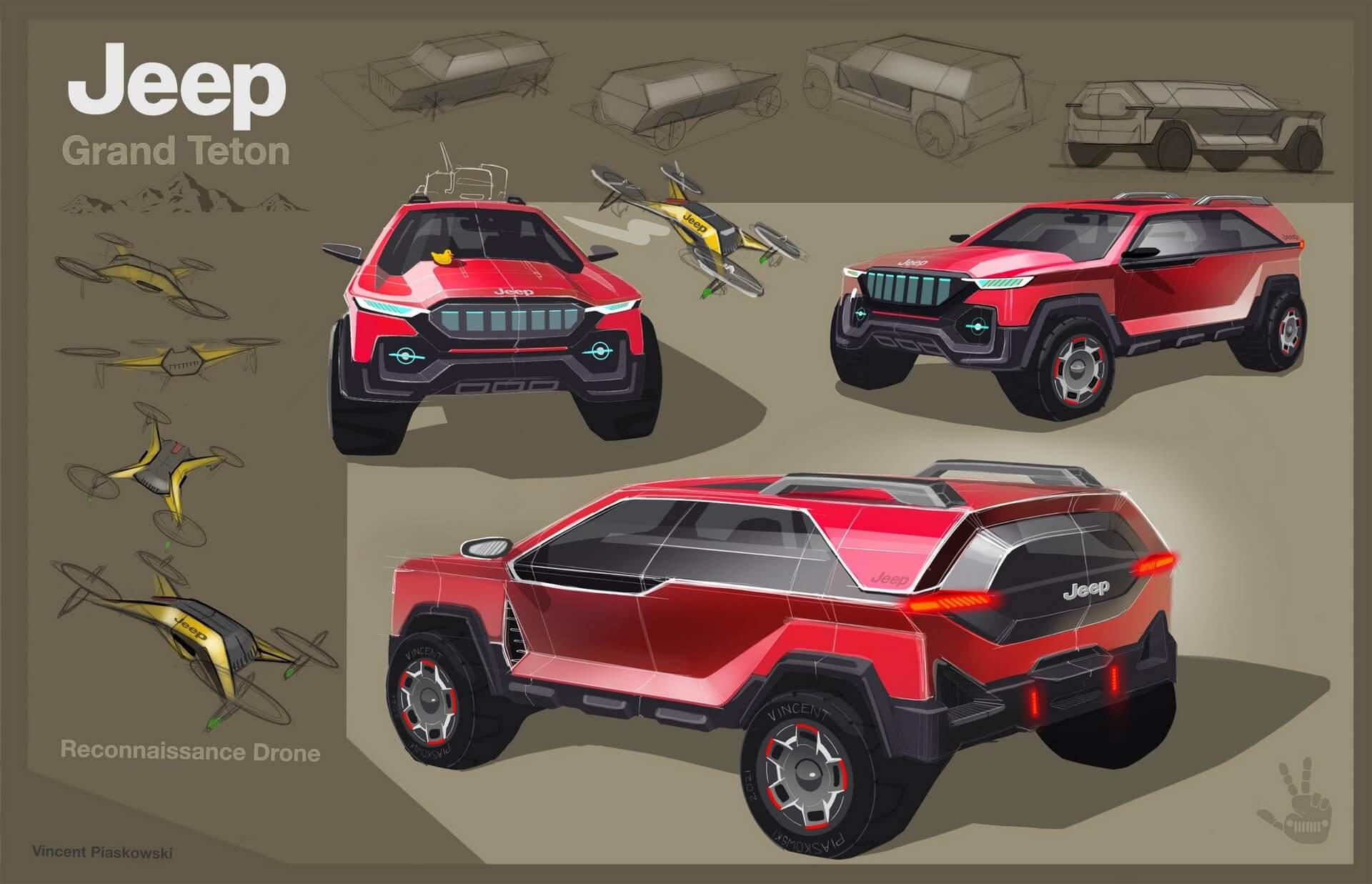 Jeep Grand Teton