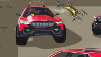 Jeep Grand Teton Design