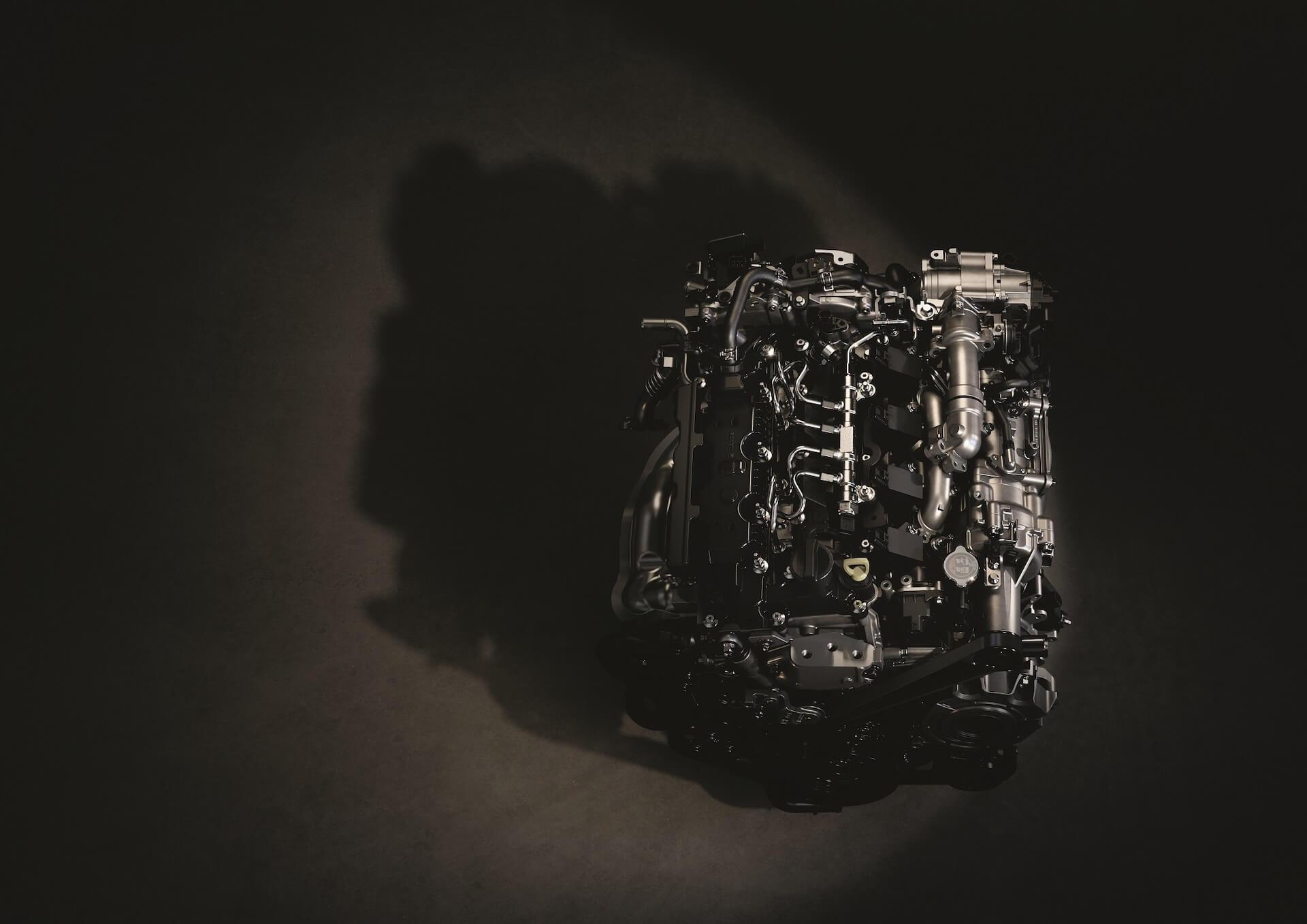 Mazda e-Skayactiv X technical 1