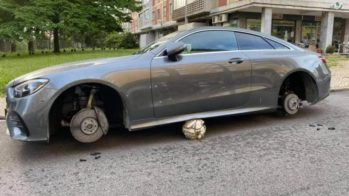 Mercedes-Benz roubo peças