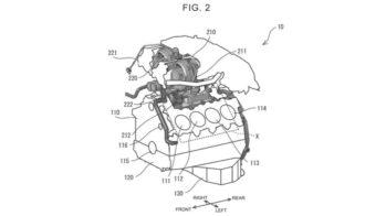 Patente motor V8 Toyota