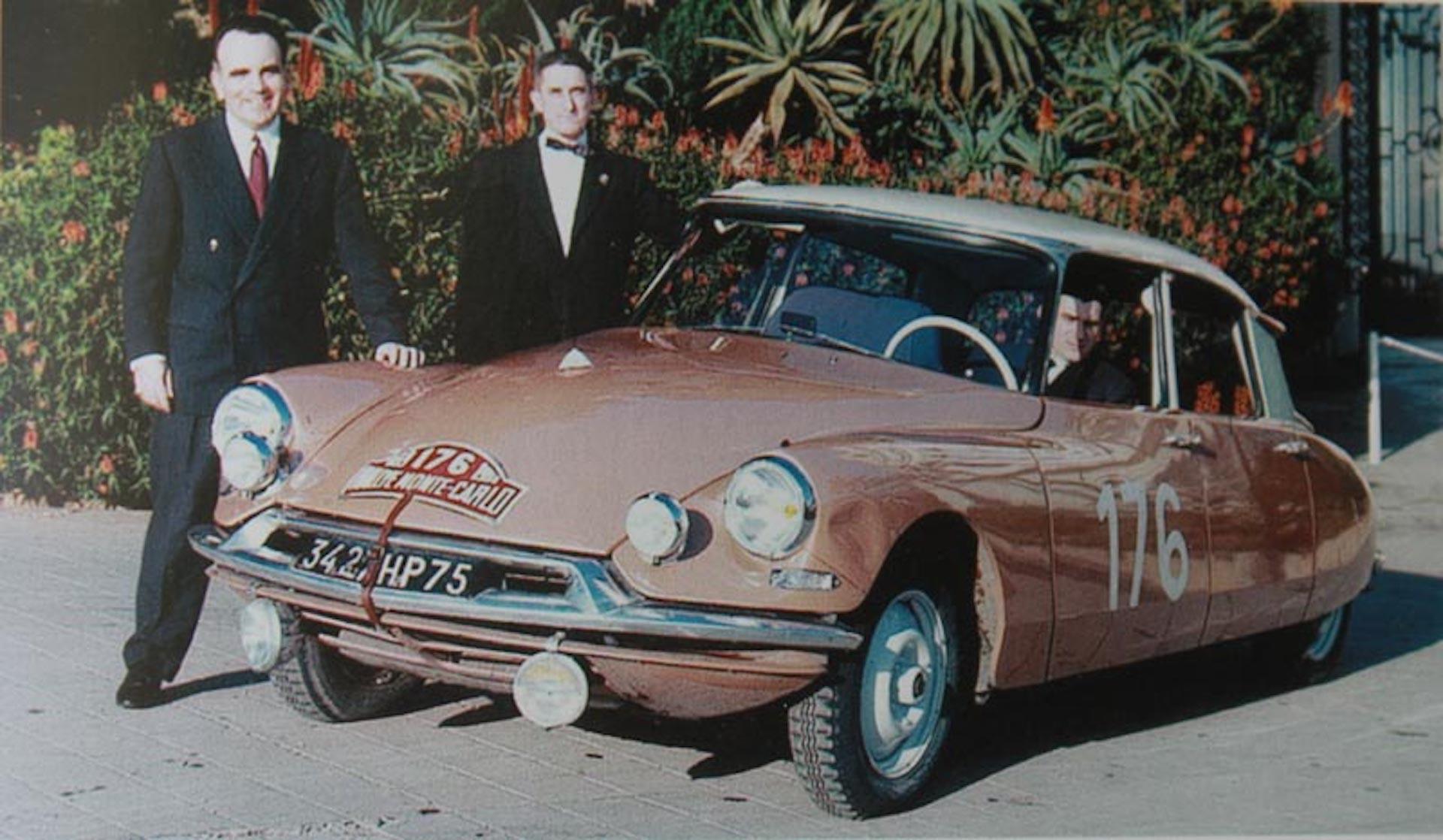 Paul Coltelloni rally Monte Carlo 1959
