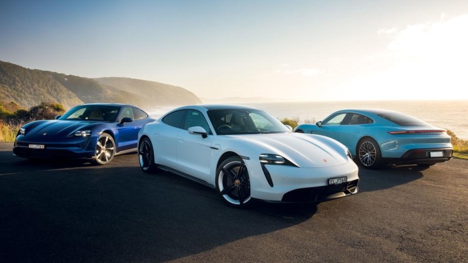 Porsche Taycan gama