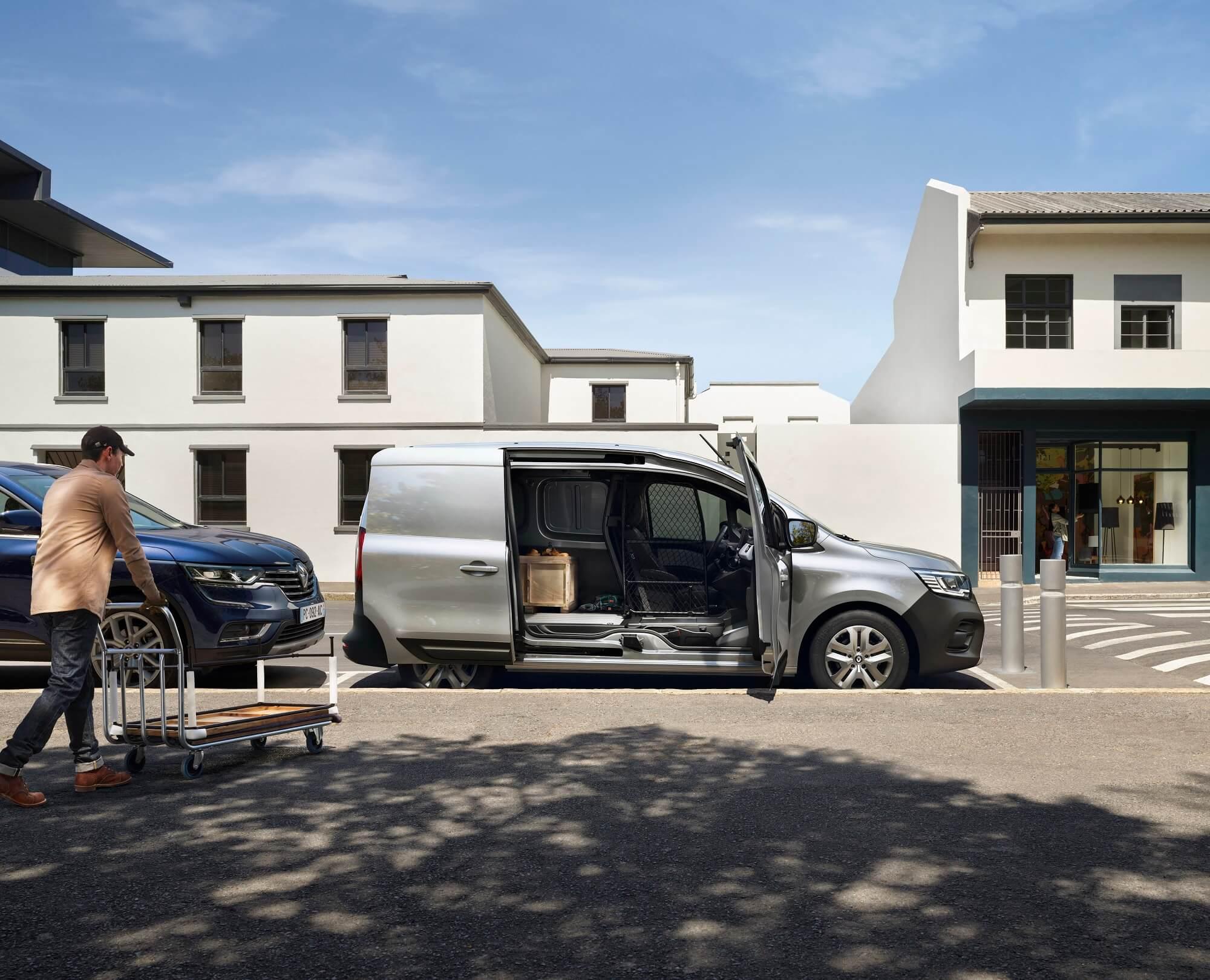 Renault Kangoo Van Open Sesame