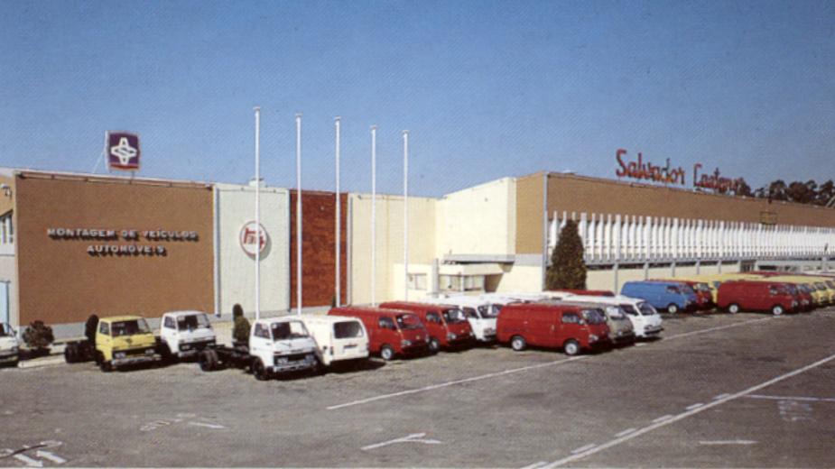 Salvador Caetano Fábrica da Toyota em Ovar
