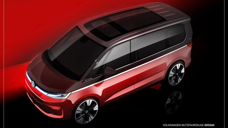 Teaser Volkswagen T7 Multivan