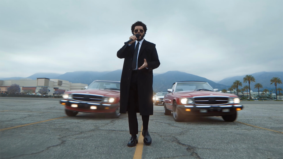 The Weeknd video Mercedes-Benz SL