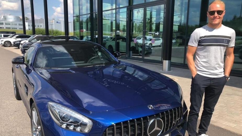 VALTTERI BOTTAS e MERCEDES-AMG GT S