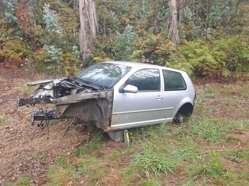 catalisadores Volkswagen Golf roubo peças (autoroubo)