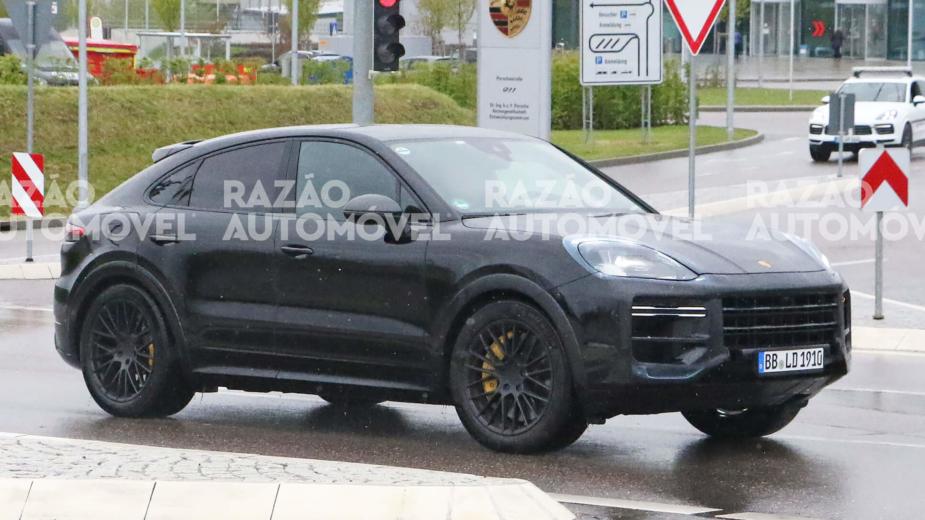 Porsche Cayenne Coupé fotos-espia