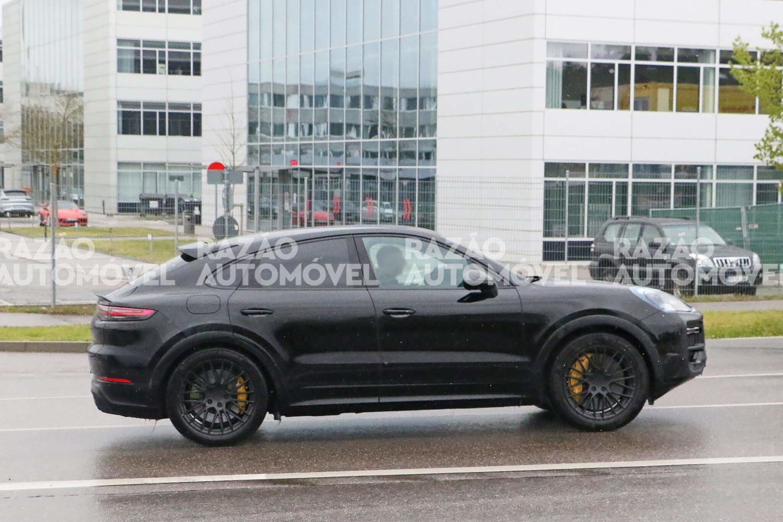 Porsche Cayenne Coupe fotos-espia