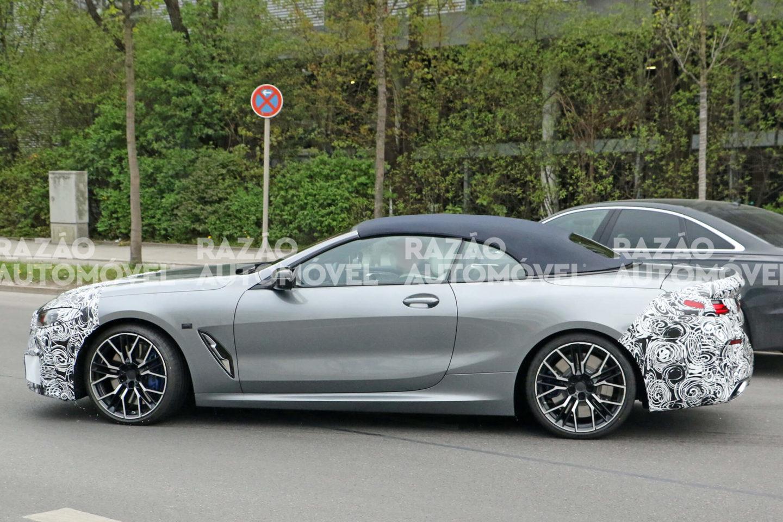 BMW Série 8 Cabrio fotos-espia